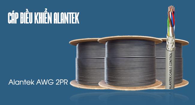 Cáp điều khiển Alantek 16AWG 2Pair